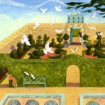 5_cards_doves_do_furnish_a_garden