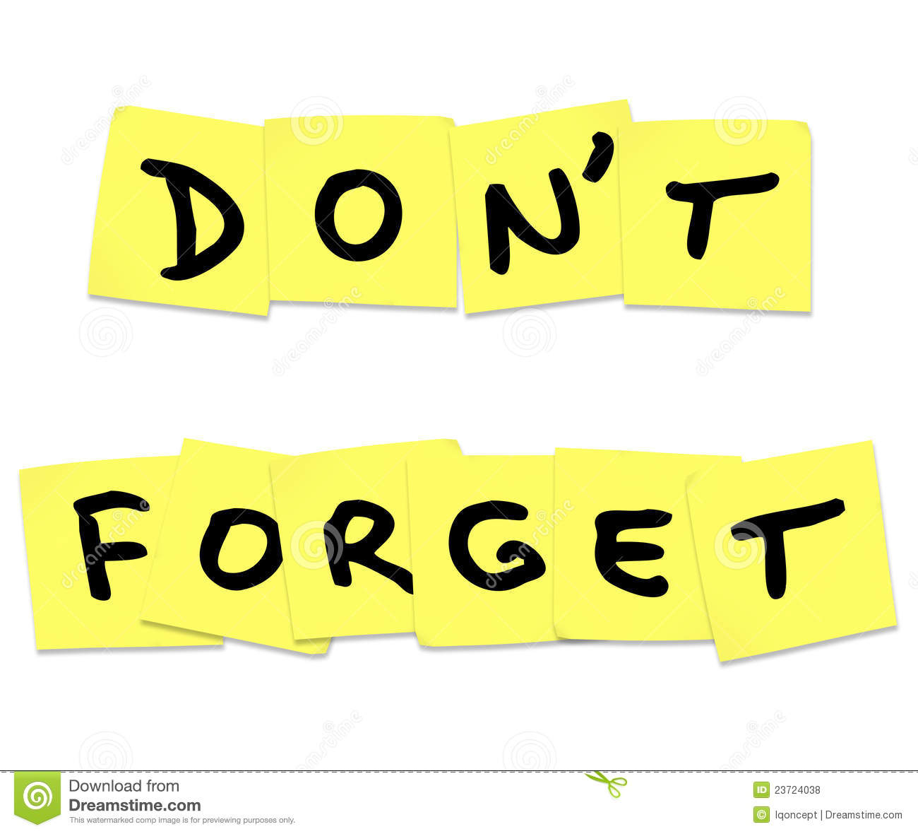 don-t-forget-reminder-words-yellow-sticky-notes-23724038
